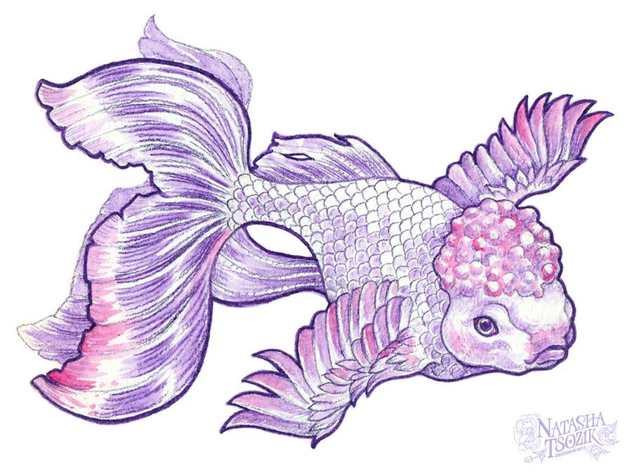 Bird fish by Natasha Tsozik