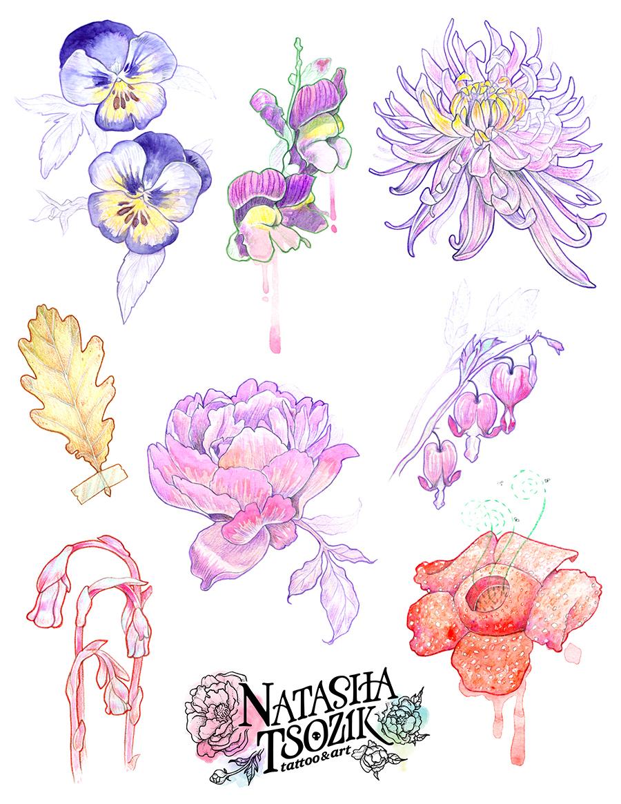 Flowers by Natasha Tsozik