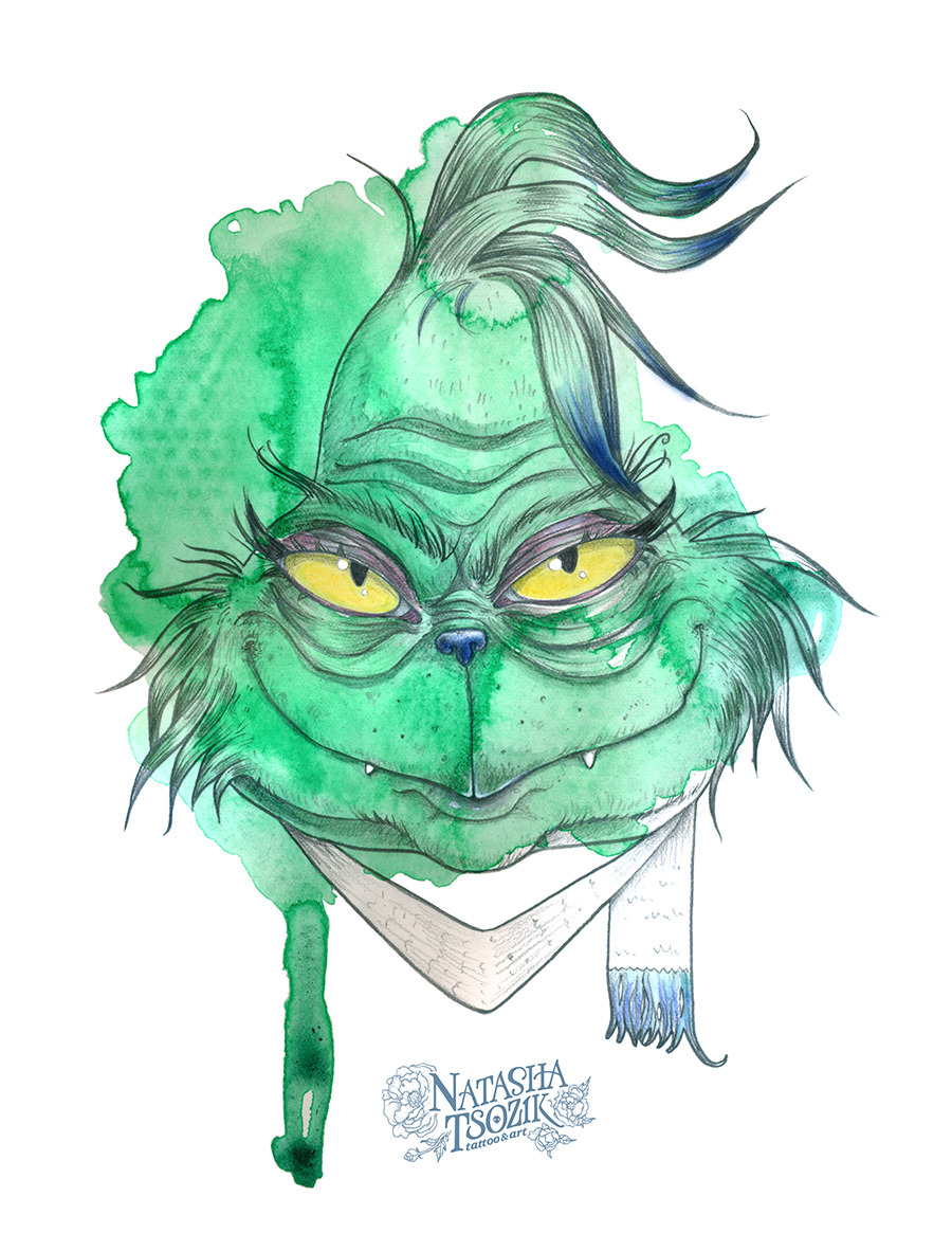 Grinch by Natasha Tsozik