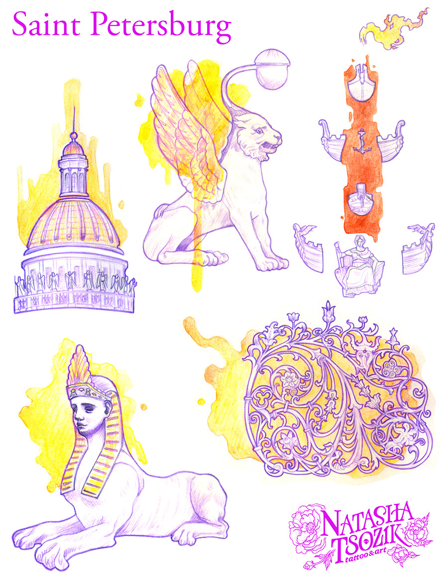 Saint Petersburg by Natasha Tsozik