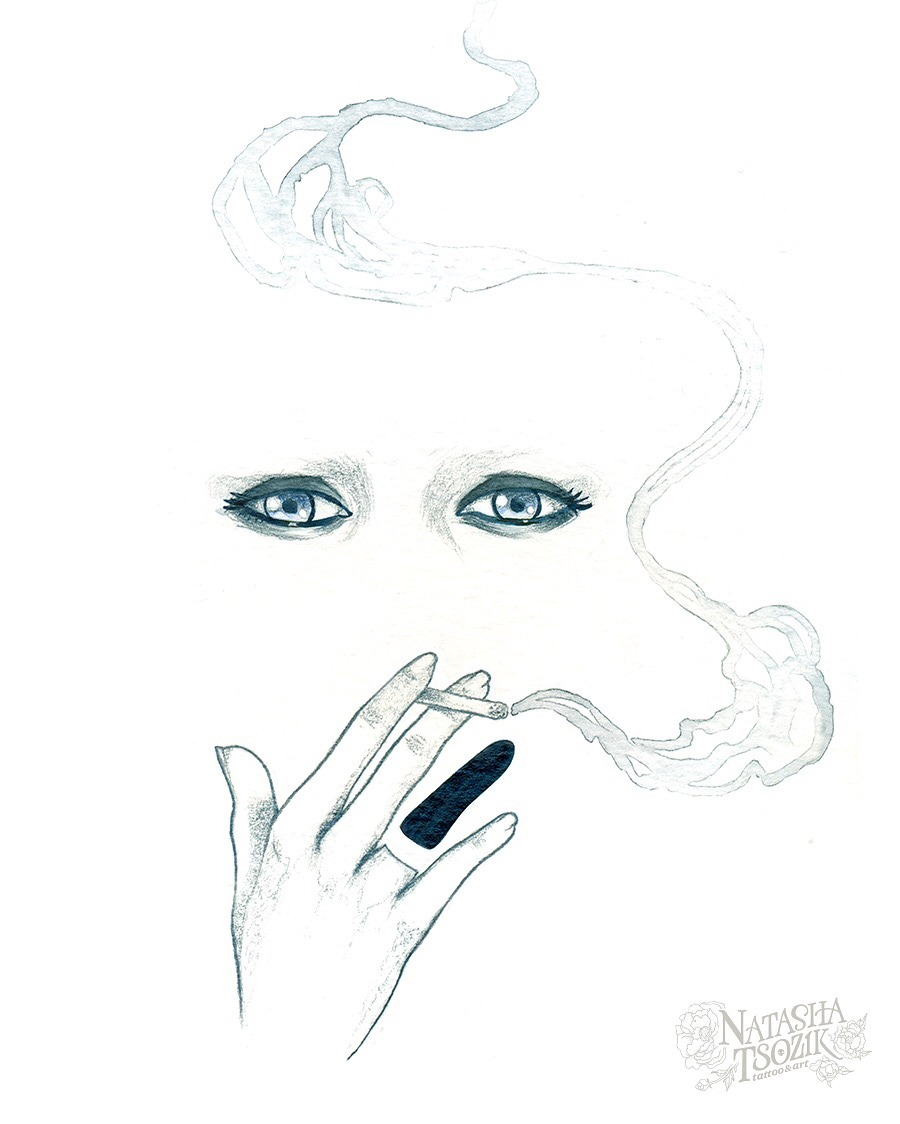 Smoke by Natasha Tsozik