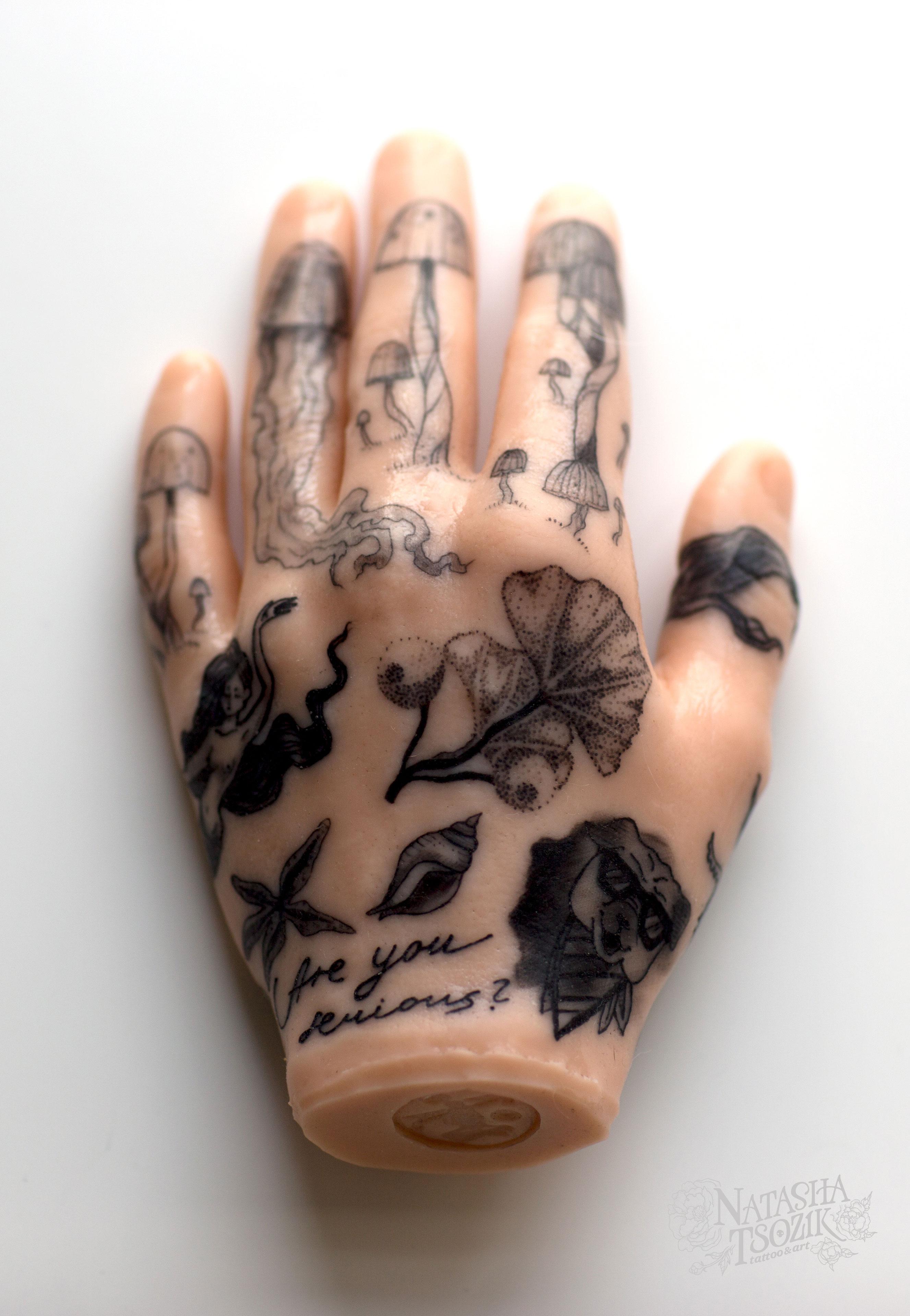 rubber hand2 by Natasha Tsozik